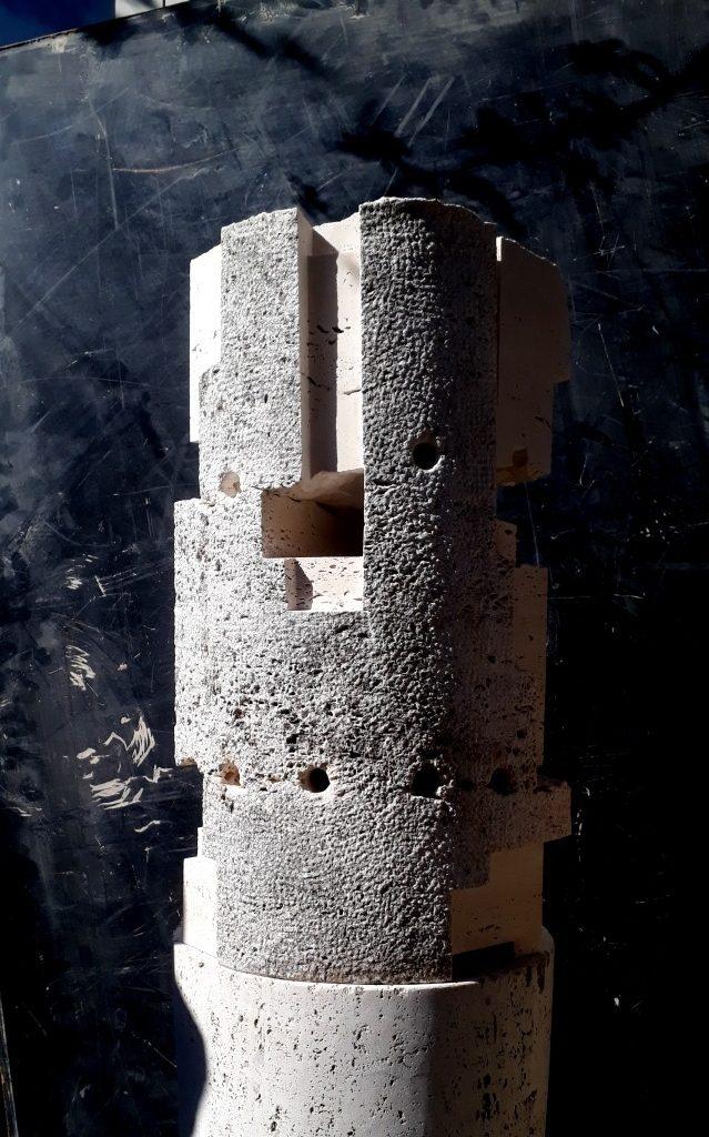 tempel Basaltlava teotihuacano Uli Gsell