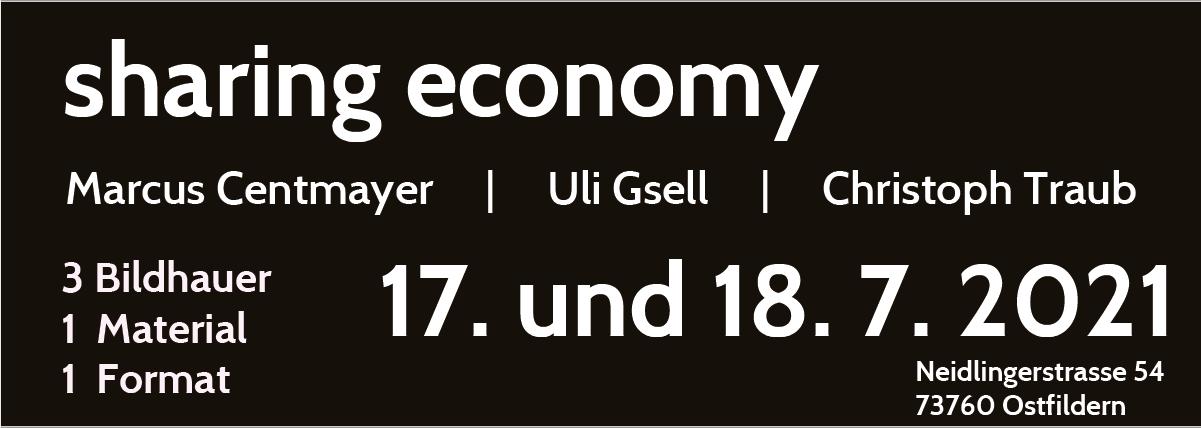 sharing economy Uli Gsell kunstforum international